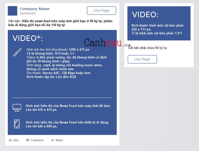 Kích thước hình ảnh cá nhân và quảng cáo facebook hình 4