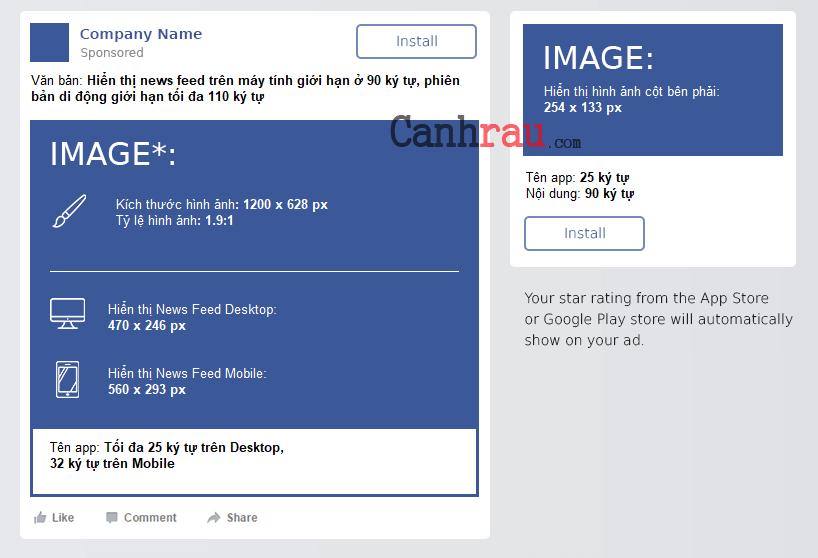 Kích thước hình ảnh cá nhân và quảng cáo facebook hình 6