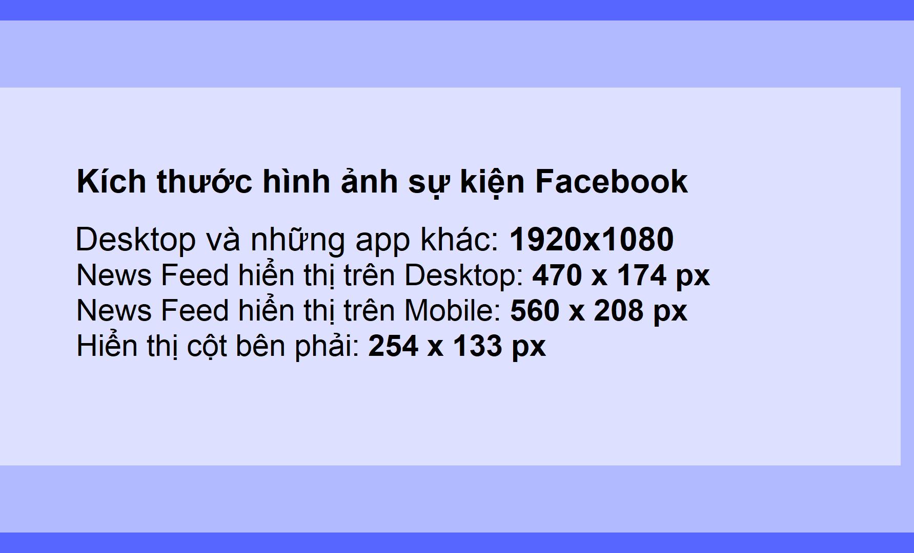 Kích thước hình ảnh cá nhân và quảng cáo facebook hình 8