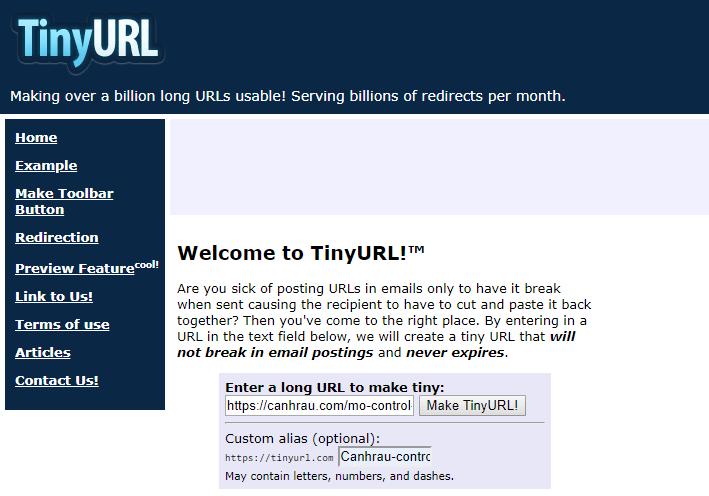 rút gọn link là gì các trình duyệt hỗ trợ rút gọn link hình 2