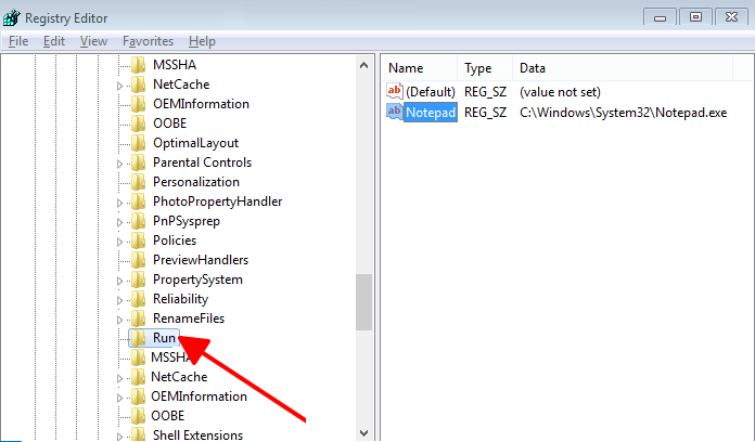 Tắt các phần mềm tự khởi động Windows 7 hình 9