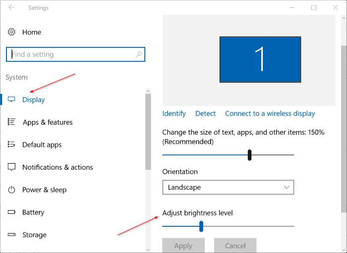 Thay đổi độ sáng màn hình dễ nhất hình 10