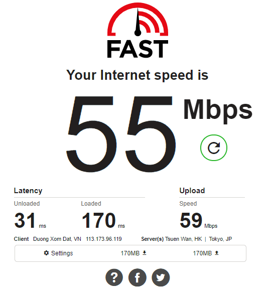 Cách kiểm tra tốc độ mạng internet wifi hình 5
