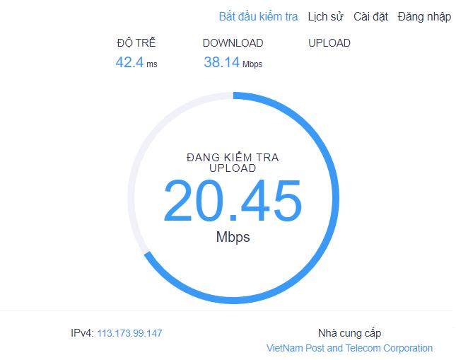 Cách kiểm tra tốc độ mạng internet wifi hình 8
