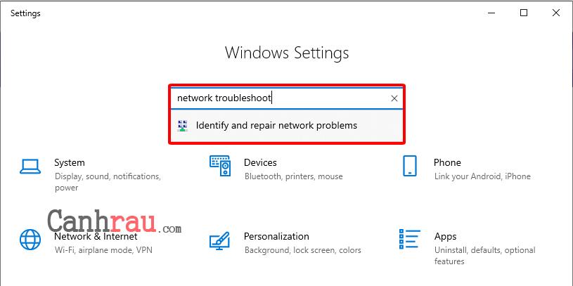 Cách sửa lỗi this site can't be reached hình 6