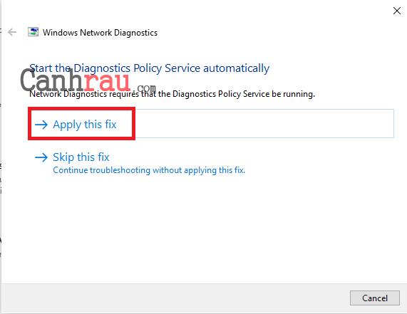 Cách sửa lỗi this site can't be reached hình 7