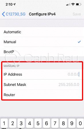 Hướng dẫn cách thay đổi địa chỉ IP hình 7