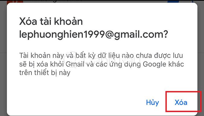 Hướng dẫn đăng xuất tài khoản Gmail hình 3