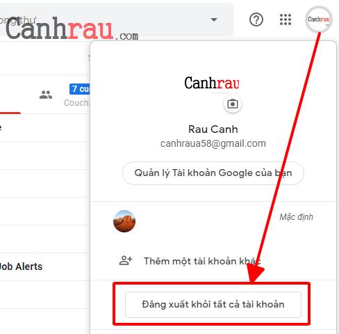 Hướng dẫn đăng xuất tài khoản gmail ra tất cả các thiết bị hình 1