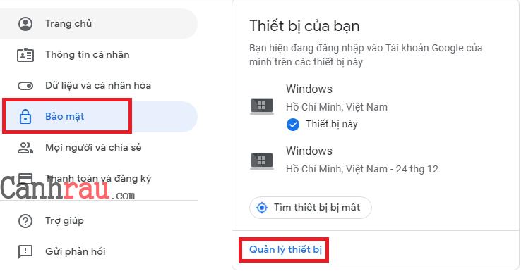 Hướng dẫn đăng xuất tài khoản gmail ra tất cả các thiết bị hình 4