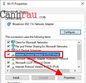 Hướng dẫn thay đổi địa chỉ IP trên máy tính và điện thoại hình 4
