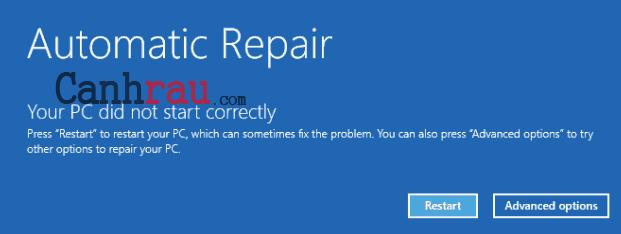 Màn hình xanh là gì cách sửa lỗi màn hình xanh hình 4