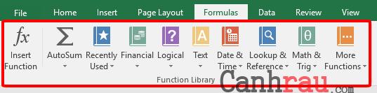 Tổng hợp các hàm cơ bản thông dụng trong Excel hình 1