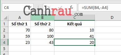 Tổng hợp các hàm cơ bản thông dụng trong Excel hình 6