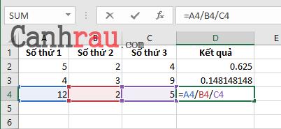 Tổng hợp các hàm cơ bản thông dụng trong Excel hình 8