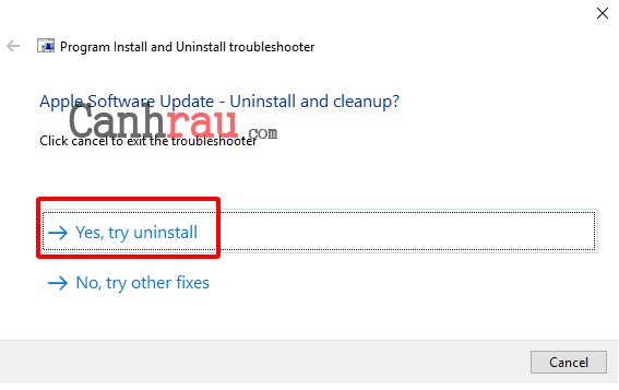 Cách gỡ cài đặt phần mềm trên máy tính hình 9
