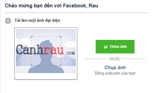 Cách tạo tài khoản Facebook hình 3