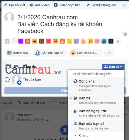 Cách tạo tài khoản Facebook hình 6
