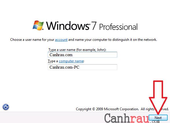 Cách cài lại Windows 7 bằng USB hình 13
