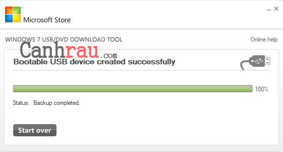 Cách cài lại Windows 7 bằng USB hình 6