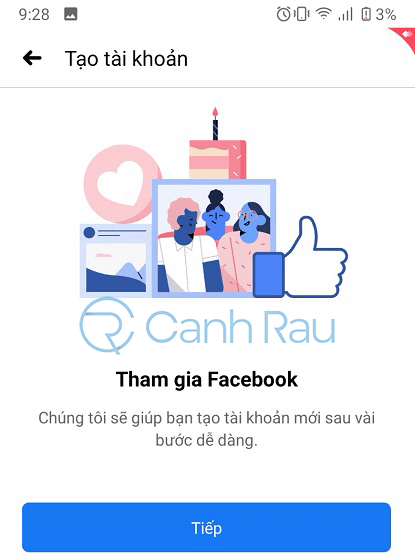 Cách đăng ký tài khoản Facebook hình 6