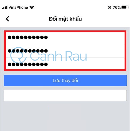 Cách đổi mật khẩu Facebook hình 8