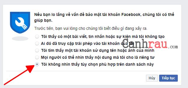 Cách đổi tên facebook trước 60 ngày hình 13