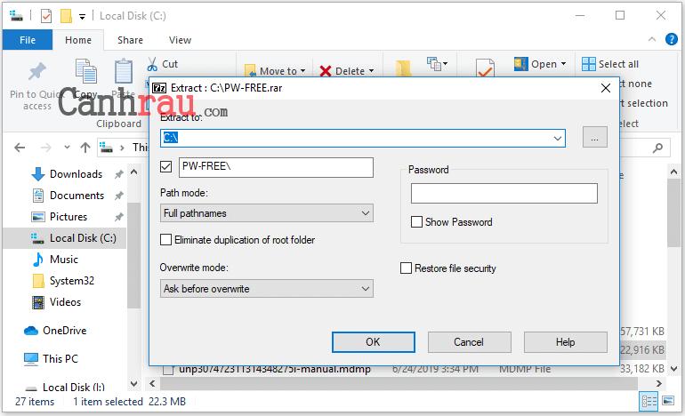 Cách giải nén file rar trên máy tính macbook điện thoại miễn phí hình 6