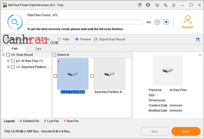 Cách hiện file ẩn trong usb hình 6