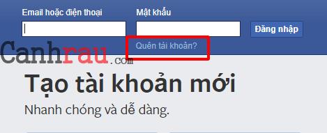 Cách khôi phục mật khẩu facebook khi bị hack hình 6