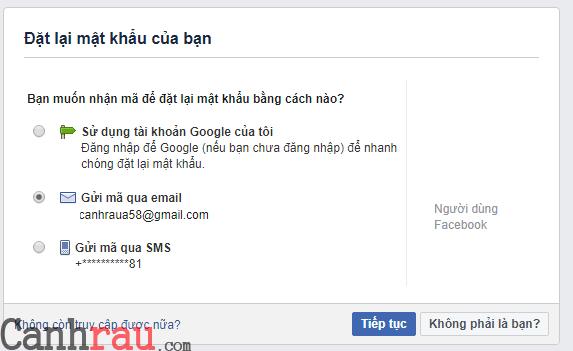 Cách khôi phục mật khẩu facebook khi bị hack hình 8