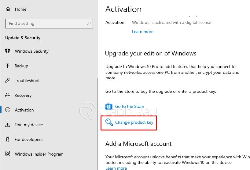 Cách nâng cấp Windows 10 Home lên Windows 10 Pro hình 16