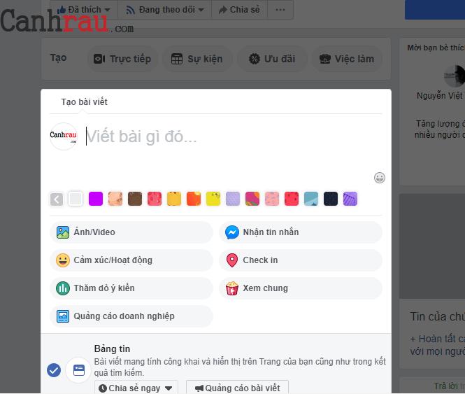 Cách tạo và cài đặt fanpage Facebook hiệu quả 2020 hình 8