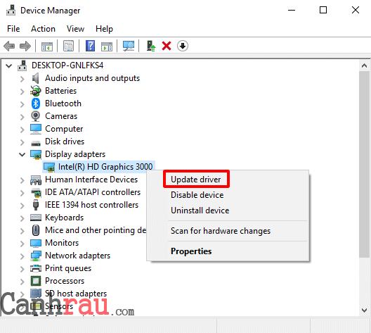 Cách update driver hiệu quả trên Windows 10 hình 2