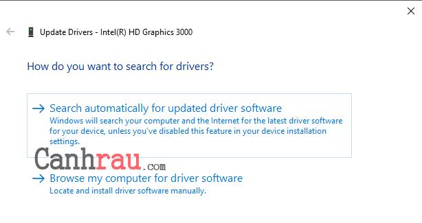 Cách update driver hiệu quả trên Windows 10 hình 3