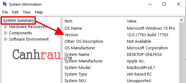 Cách xem phiên bản Windows 10 hiện tại trên máy tính hình 4