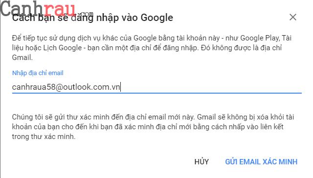 Cách xóa tài khoản gmail và google hình 6