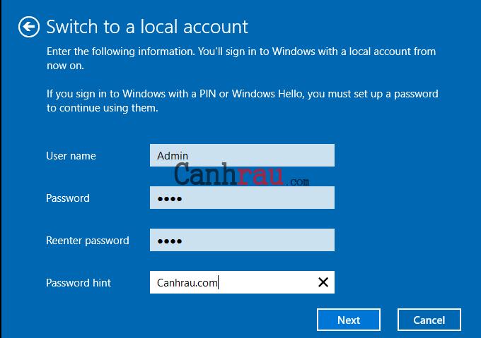Cách xóa tài khoản microsoft email khỏi windows 10 hình 11