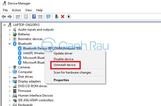Hướng dẫn bật Bluetooth trên laptop Windows 10 hình 15