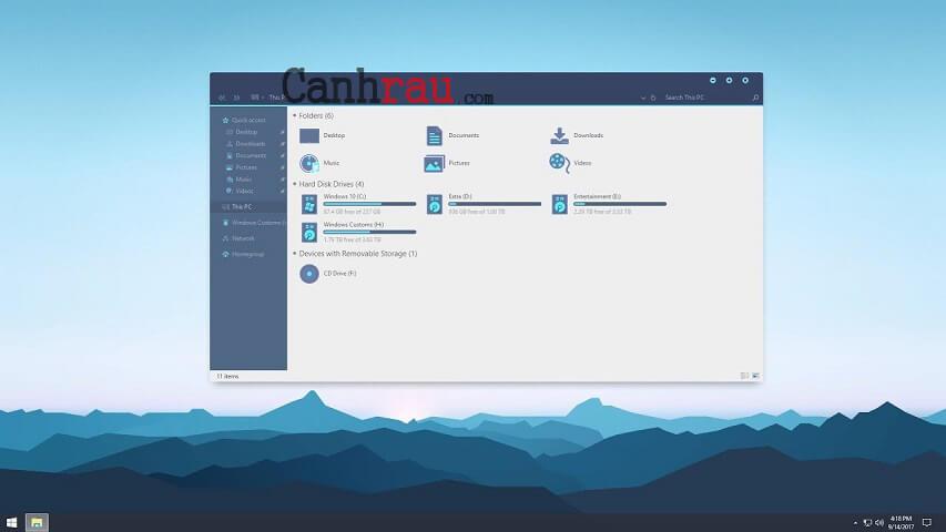 Theme đẹp cho Windows 10 năm 2020 hình 8