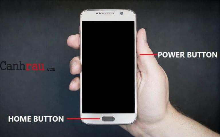 Cách hụp ảnh màn hình điện thoại Android hình 1