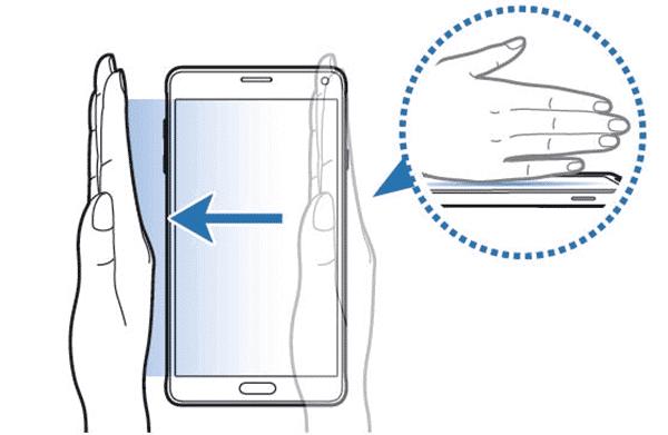 Cách chụp màn hình điện thoại Samsung hình 1