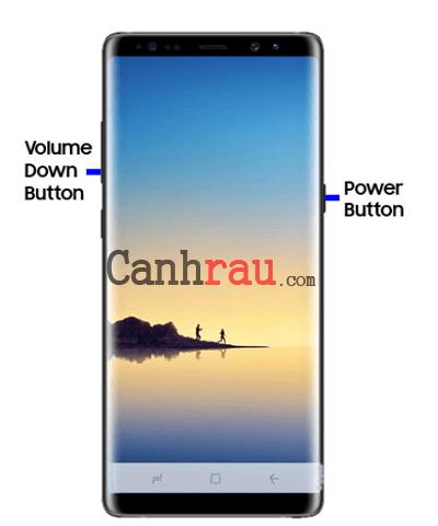 Cách chụp màn hình điện thoại Samsung hình 3