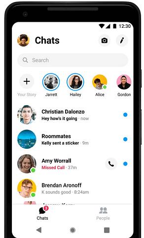 Cách đăng xuất tài khoản messenger trên điện thoại và máy tính hình 1