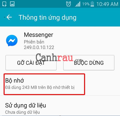 Cách đăng xuất tài khoản messenger trên điện thoại và máy tính hình 3