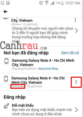 Cách đăng xuất tài khoản messenger trên điện thoại và máy tính hình 7