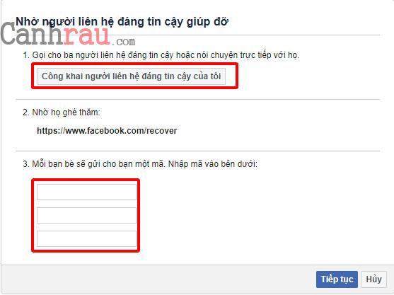 Cách phục hồi tài khoản Facebook bị khóa và vô hiệu hóa hình 8