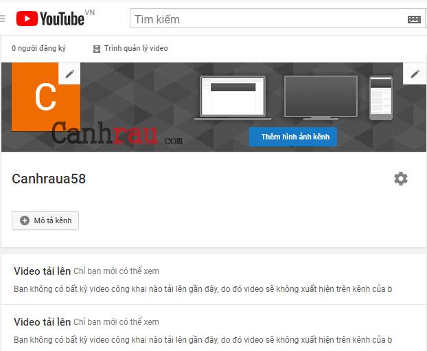 Cách tạo tài khoản Youtube mới nhất hình 14