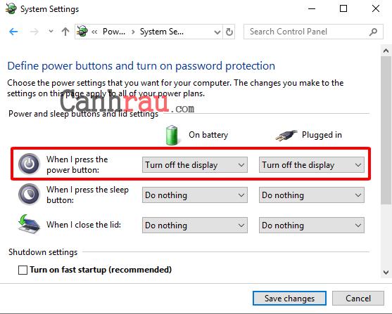 Hướng dẫn cách tắt màn hình laptop hình 6