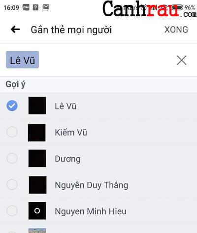 Hướng dẫn gắn thẻ bạn bè trên Facebook hình 11